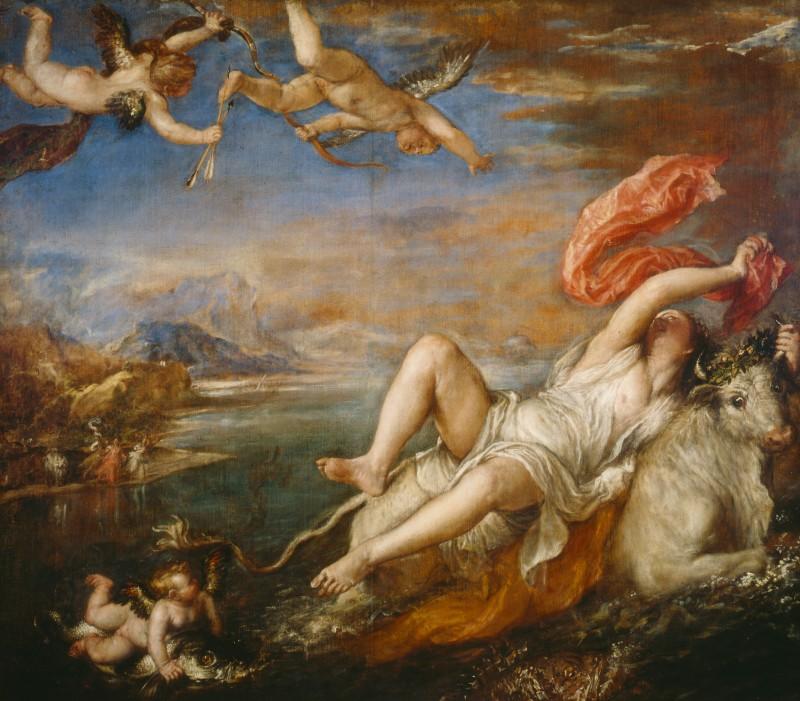 """""""Rape of Europa"""" by Titian"""