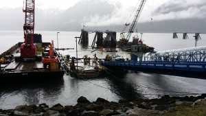 Burst Water Pipe Likely Cause For Skagway Ferry Dock Sinking