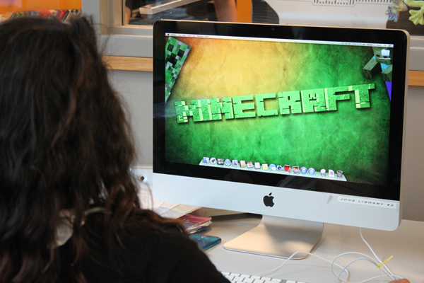 Minecraft could help engage students in science, technology, engineering and math. (Photo by Lisa Phu/KTOO)