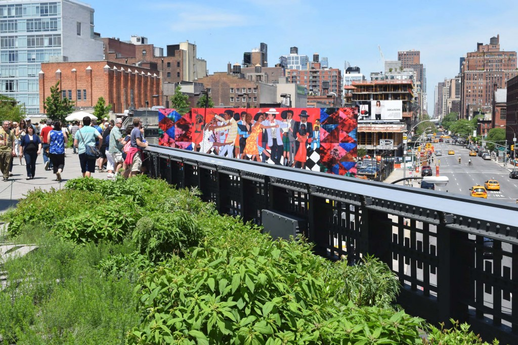 The High Line, Manhattan.