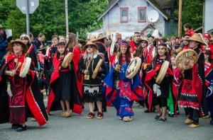 2,000 Dancers Make Grand Entrance To Celebration