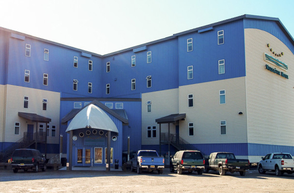 The Nullagvik Hotel in Kotzebue. (Photo by  Zachariah Hughes, KNOM - Nome)