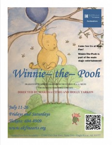 Winnie-The-Pooh Comes to the Alaska Fine Arts Academy in Eagle River
