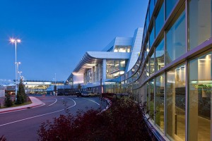 The south terminal of the Ted Stevens International Airport in Anchorage (photo courtesy of Ted Stevens International Airport).