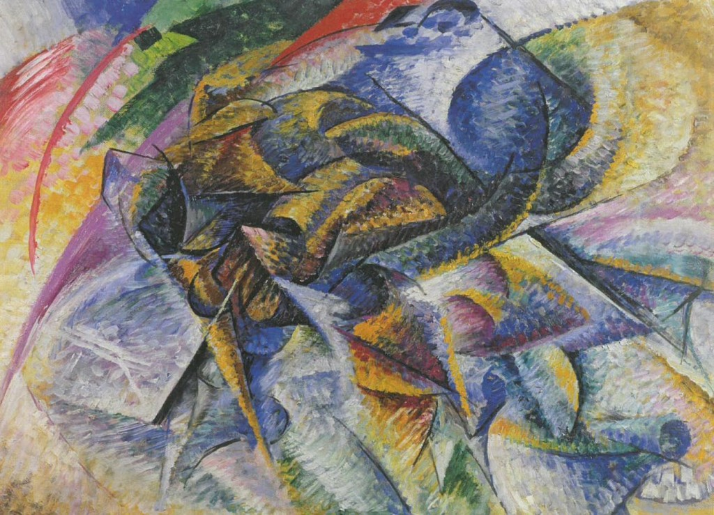 Bocciono, Dynamism of a Cyclist (1913).