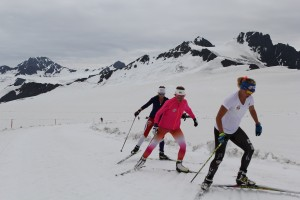 Skiing on Eagle Glacier Connects Alaska to the World