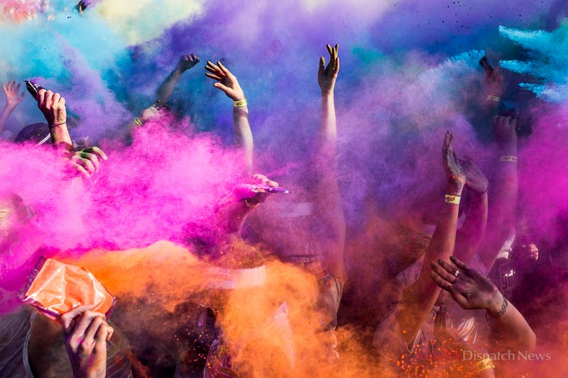 15,000 people participated in Anchorage's first Color Run on June 15, 2013. The run is a 5k race where colored powder is thrown on participants every kilometer.