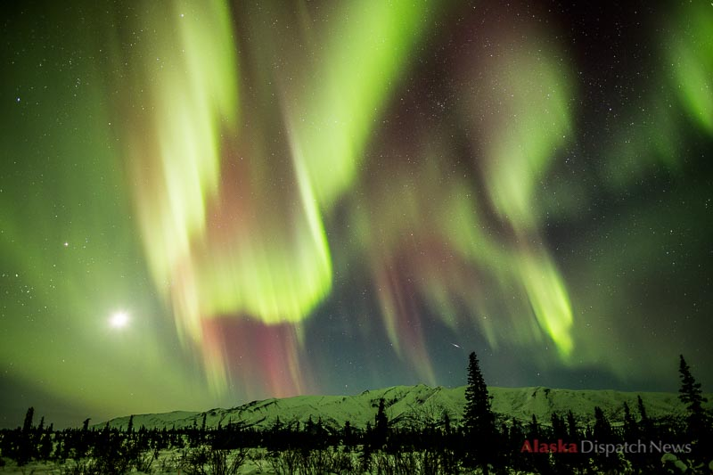 A coronal mass ejection from the sun created stunning northern lights on March 16, 2013.
