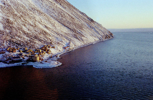 Diomede, seen from the west. (Photo: Wikipedia)