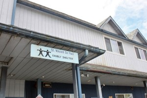 St. Vincent de Paul's transitional shelter has 26 rooms. (Photo by Lisa Phu/KTOO)