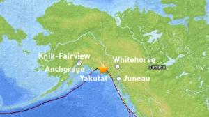 Earthquake Rattles Yakutat; Felt in Whitehorse; No Damage Reported