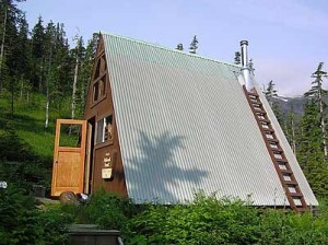 DeBoer Lake cabin in the Petersburg Ranger District of the Tongass National Forest is one of ten cabins that will be removed by 2017. (Photo courtesy U.S. Forest Service)
