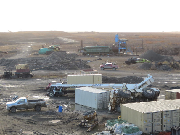 "The Nome Police Department is investigating the incident as an ""industrial accident."" Photo: John Handeland."