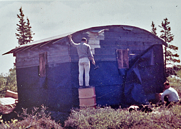 Nuyakuk Cabin, 1962. © Jean McLane