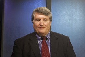 Harry Crawford (D) is a candidate for Senate District N. (Photo by Josh Edge, APRN - Anchorage)