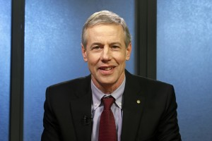 Matt Claman (D) is a candidate for House District 21. (Photo by Josh Edge, APRN - Anchorage)