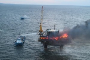 Hilcorp Drilling Platform Catches Fire In Cook Inlet