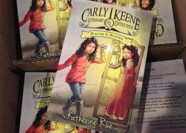 """Carly Keene, Literary Detective: Braving the Brontes"" is the first book of writer Katherine Rue. Rue now lives in North Carolina but often visits Juneau, where her parents, Sally and Frank Rue, still live. (Photo courtesy of Katherine Rue)"