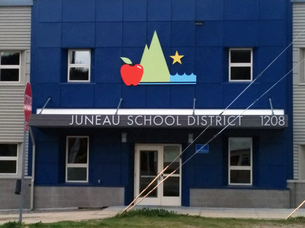 The Juneau School District offices. (Photo by Heather Bryant/KTOO)