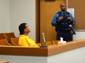 Leroy Dick Jr., at his arraignment on a first degree murder charge on March 20, 2013.