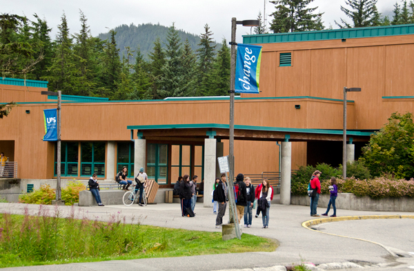 University of Alaska Southeast (Photo by Heather Bryant/KTOO)