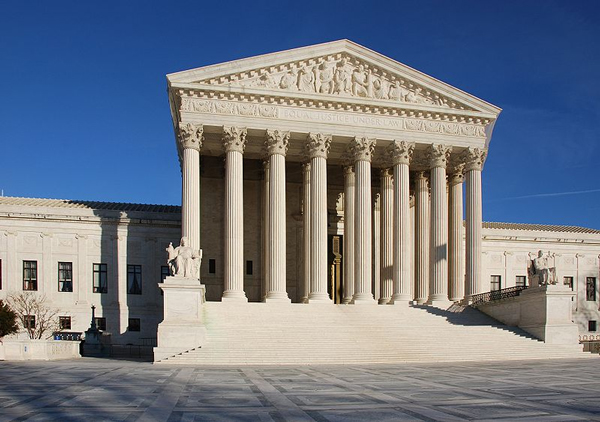 United States Supreme Court building in Washington D.C. (© Jarek Tuszynski / Wikimedia Commons)