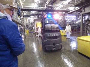 Pollock processors at UniSea's G2 plant in Unalaska. (Lauren Rosenthal/KUCB)