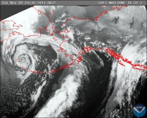 Worst of Bering Sea Storm Over for Aleutian Island Residents