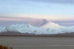 Tremors and Ash Seen at Pavlof Volcano