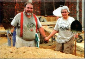 Sam and his wife Linda volunteering in Vietnam in 2010. Photo courtesy of Sam Bunge.