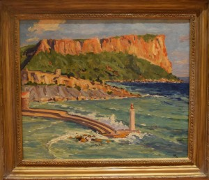 Winston Churchill, Coast Scene Near Marseilles (1935)