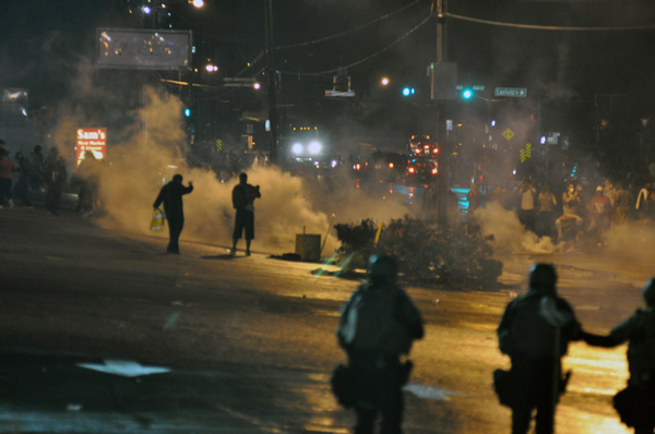 Unrest in Ferguson, MO in August 2014.(Photo via Loavesofbread/Wikimedia Creative Commons)