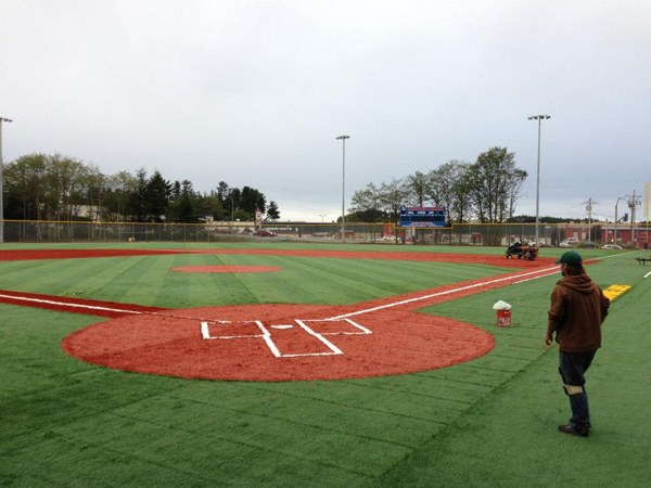 Moller Field re-opened in 2012 after a $2.6-million renovation. (KCAW photo)