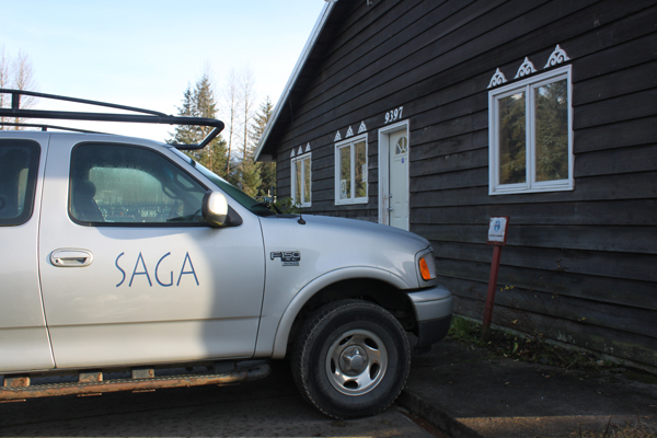 SAGA is in the process of moving out of its main office and shop on LaPerouse Avenue in Juneau. (Photo by Lisa Phu/KTOO)