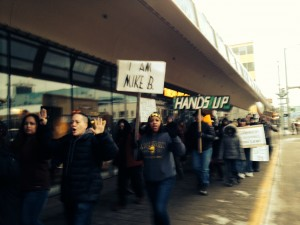 Supporters of justice for all march through downtown Anchorage