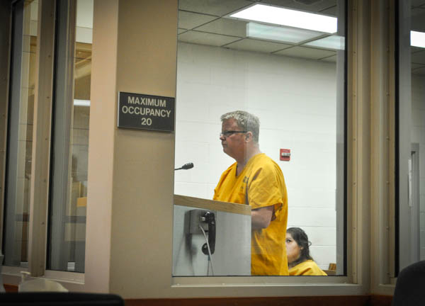 The state's request for a $25,000 bail is high, and comes with additional conditions. Photo: Zachariah Hughes, KSKA.