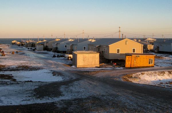 Savoonga. (Photo by Anna Rose MacArthur, KNOM - Nome)