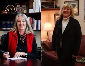 Juneau Republican Rep. Cathy Munoz (left). Former Juneau Democratic Rep. Beth Kerttula (right).
