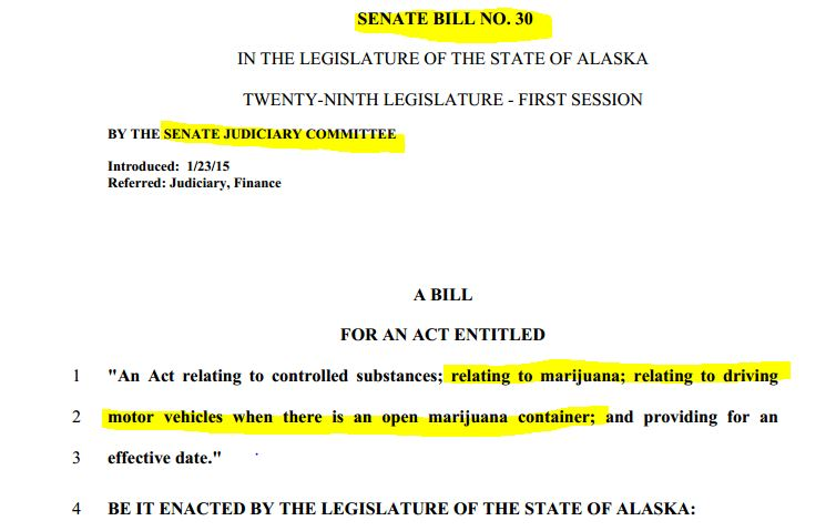 Senate Bill 30 has a deadline of February 24th in order to meet the requirements of Ballot Measure 2.