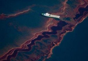 Deepwater Horizon Spill - (Photo via nature.com)