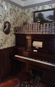The Anderson House Museum player piano. Hillman/KSKA
