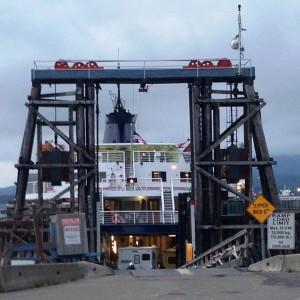 The ferry Taku loads up at the Prince Rupert, B.C., ferry terminal July 24, 2014. (Ed Schoenfeld/CoastAlaska News)