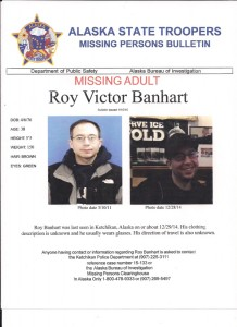 Family Worried About Missing Ketchikan Man