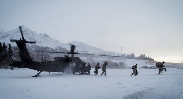 Soldiers from 12 countries and units all over the United States convened to discuss tactics, programs, and pedagogy on training military forces for operating in extreme cold environments. (Photo: Zachariah Hughes, KSKA).