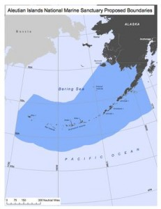 The boundaries of a marine sanctuary proposed by the Public Employees for Environmental Responsibility. (Credit: PEER)