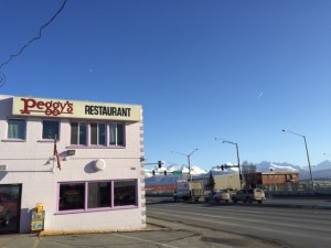 Peggy's Restaurant near Merrill Field in Anchorage. Hillman/KSKA