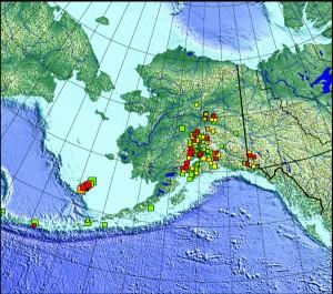 Pribilof Quake Map