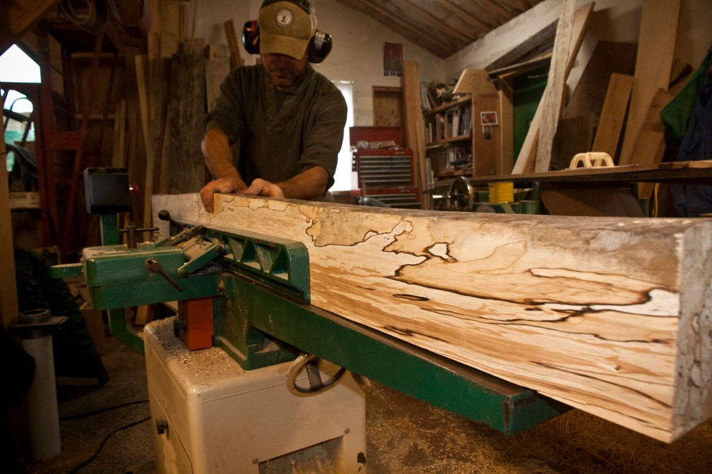 Fairweather Ski Works manufactures skis from its shop in Haines, Alaska. Hear from Fairworks co-founder Ian Seward on the next Outdoor Explorer. Photo courtesy of Fairweather Ski Works.