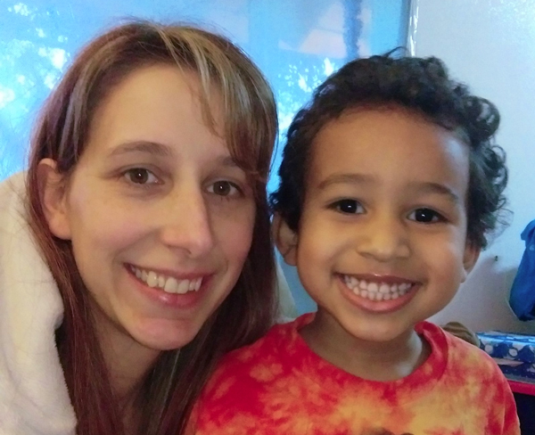 Sabrina Nelson and son Rylan, who's now 3. (Photo courtesy Sabrina Nelson)