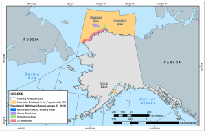 Alaska's proposed lease sale areas -- boemoceaninfo.com